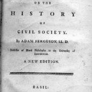 Adam Ferguson – Civil Society