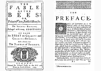 Fable of the bees, or private vices public benefits