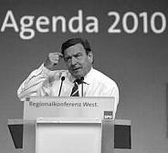 Gerhard Schröder Agenda 2010