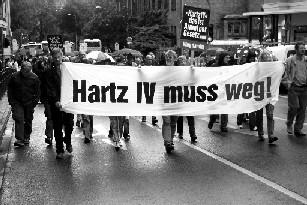 Hartz 4 Montagsdemo
